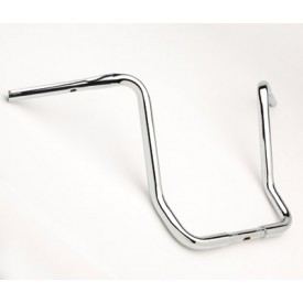 "Factory Products, 1 1/4 x 14"" Chrome Dresser APE Handlebars"